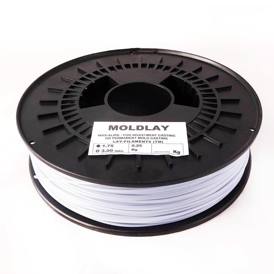 Filament MoldLay Wax 1.75mm pour moulage à cire perdue