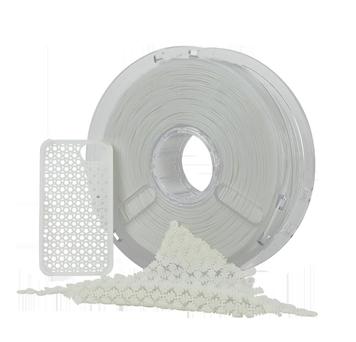 filament Flexible PolyFlex blanc 750 grs