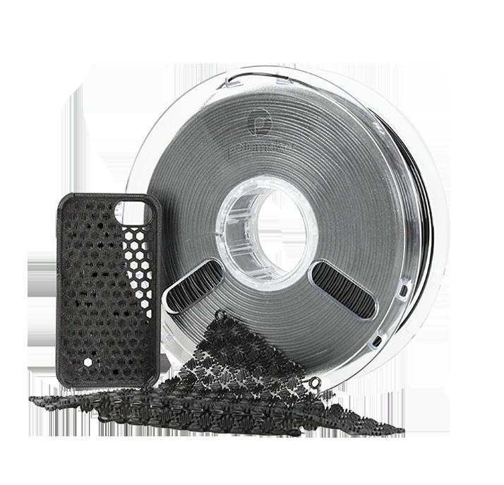 filament Flexible PolyFlex noir 750 grs