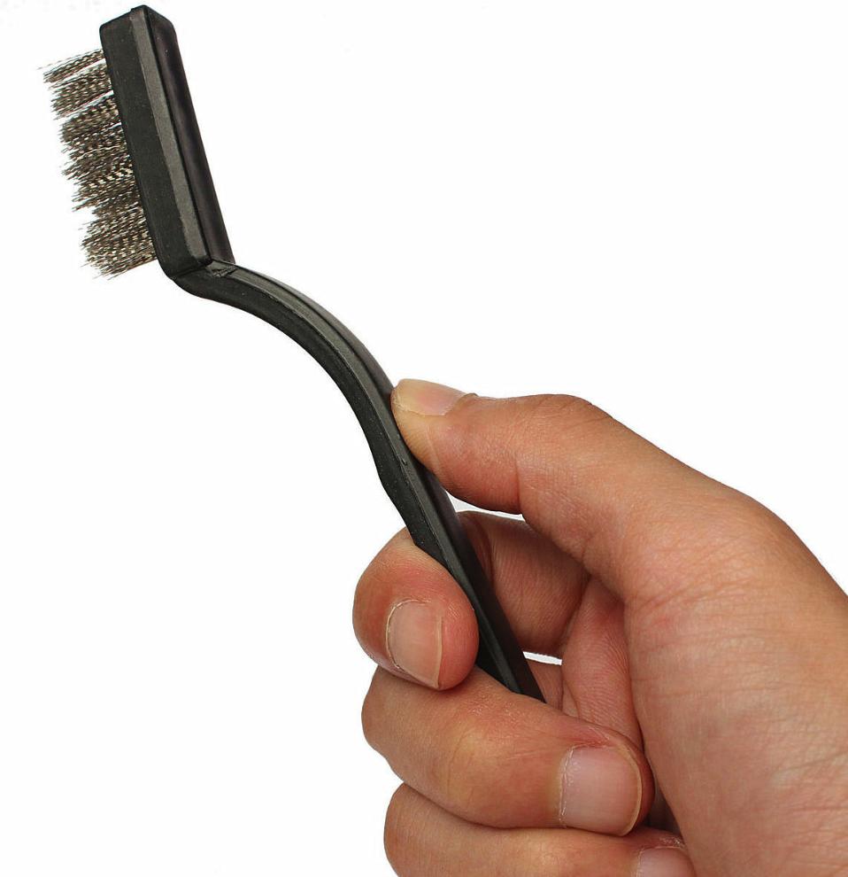 Brosse métal de nettoyage pour buse