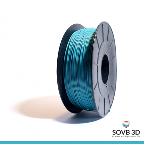 Filament ABS bleu turquoise 1kg Ral5018
