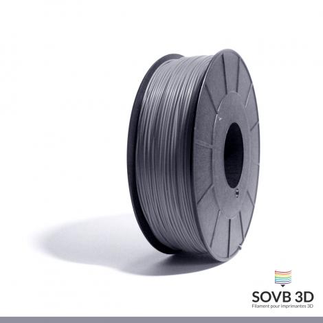 Filament ABS gris 1kg Ral 7040