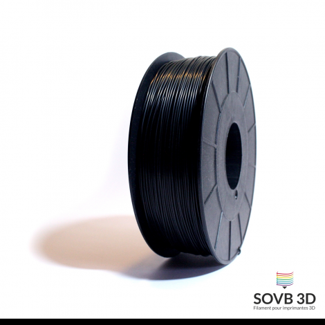 Filament ABS noir 1kg RAL9011