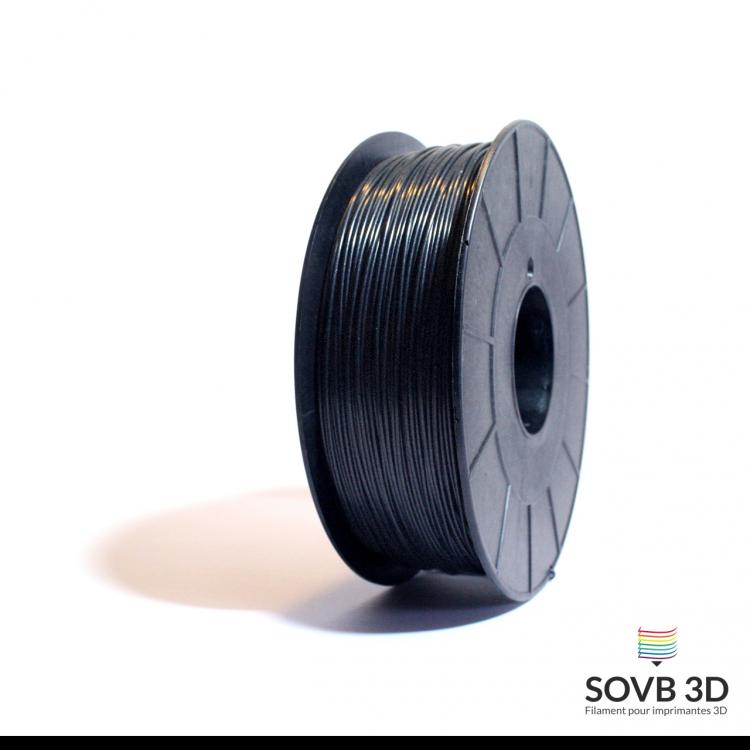 Filament ABS alumine noir 1kg