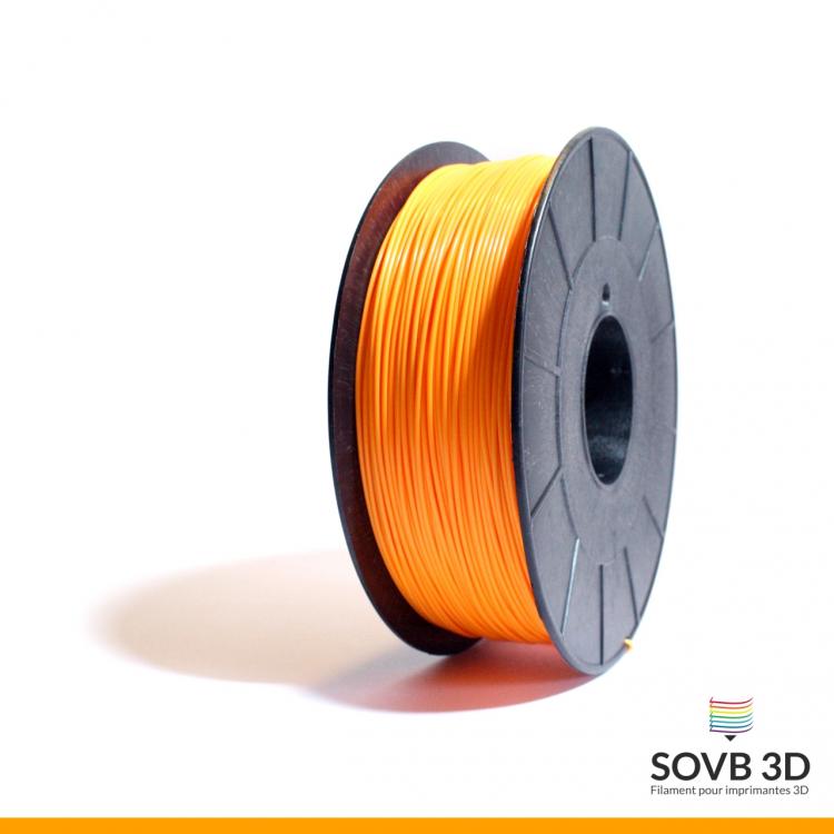 Filament ABS orange fluo 1kg Ral2007