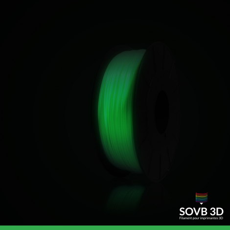 Filament ABS phosphorescent SOVB 1kg
