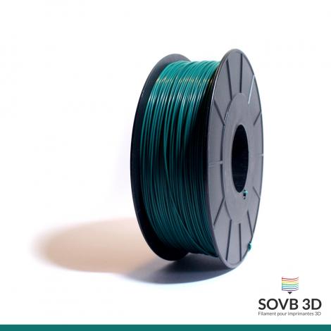 Filament ABS vert foncé 1kg Ral6004