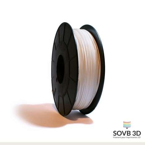 Filament PLA blanc 1kg Ral9003