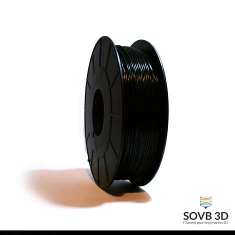 Filament PLA noir 1kg Ral9011