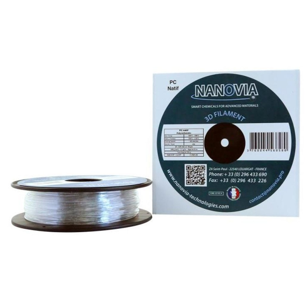 Filament Polycarbonate ininflammable V0 1,75 mm - 500G