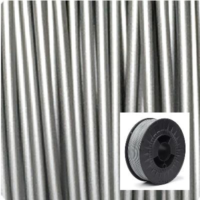 Filament 1.75 PLA Argent métallisé Status3D